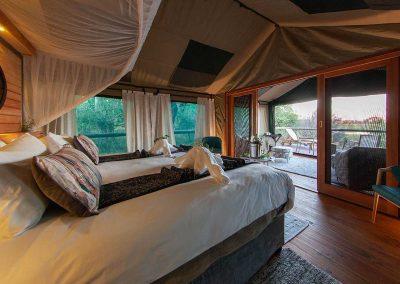 Mma Dinare bedroom