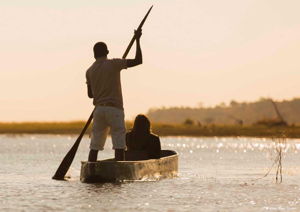 Ngoma Safari Lodge boat tour