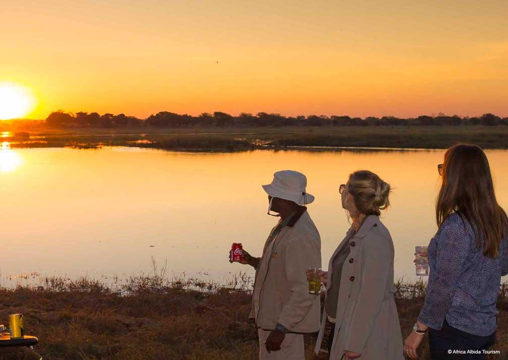 Ngoma Safari Lodge sunset views