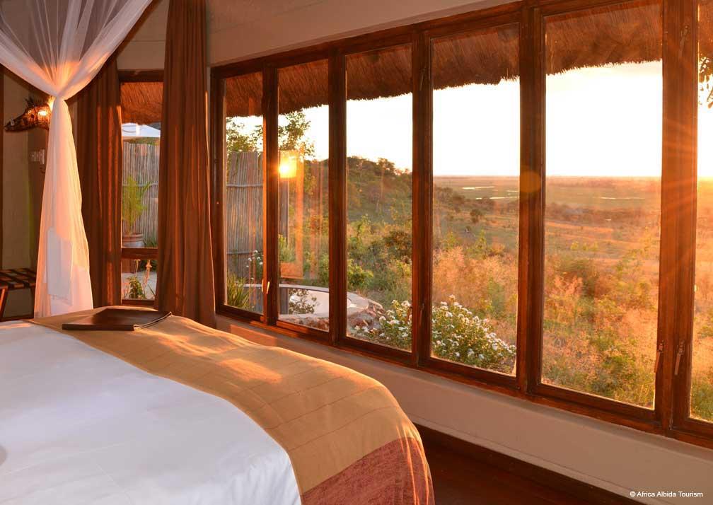 Ngoma Safari Lodge view