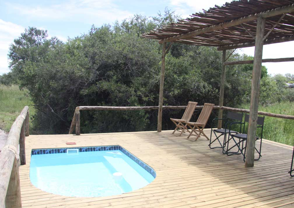 Sango Safari Camp poolside