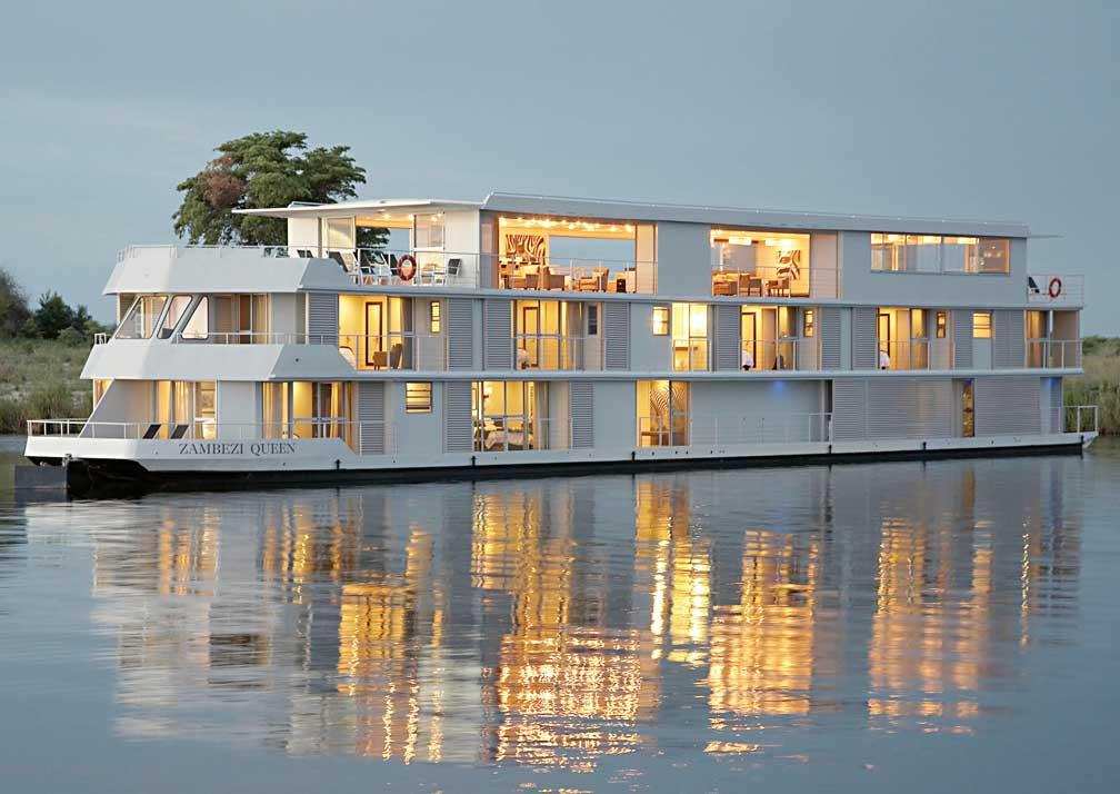 Zambezi Queen boat isometric view