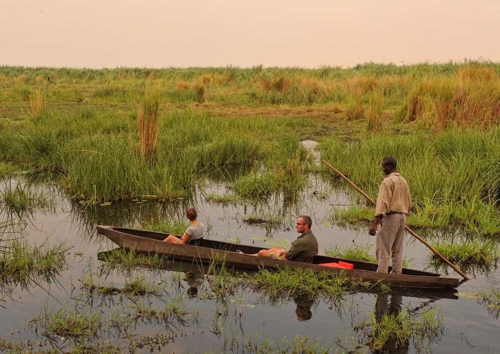 Mokoro ride at Linyanti Expeditions