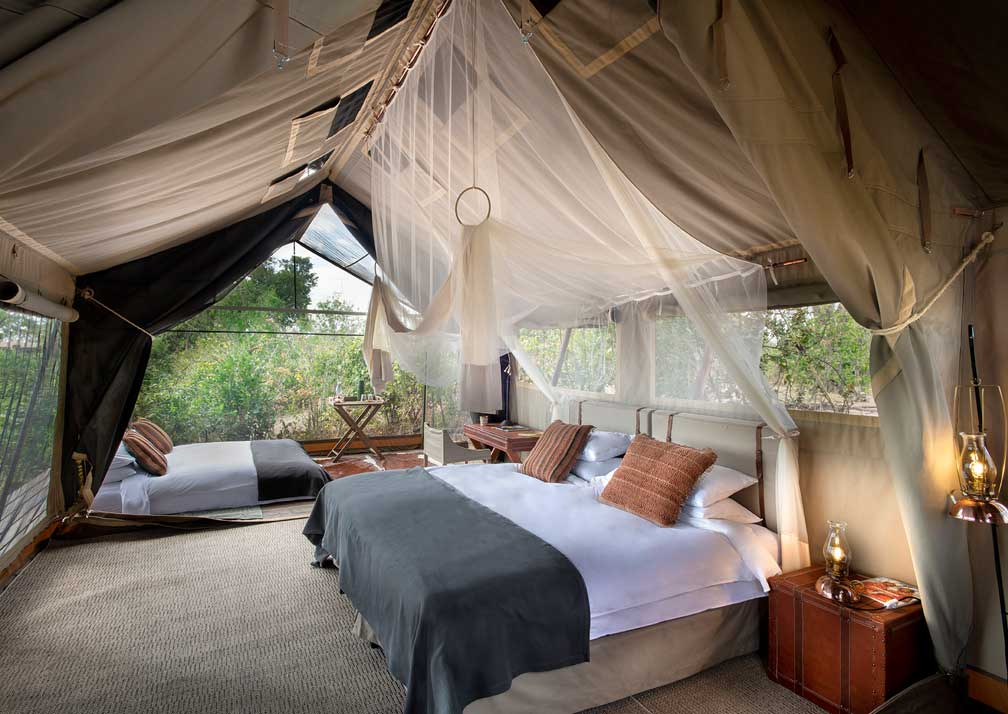 Linyanti Expeditions bedroom